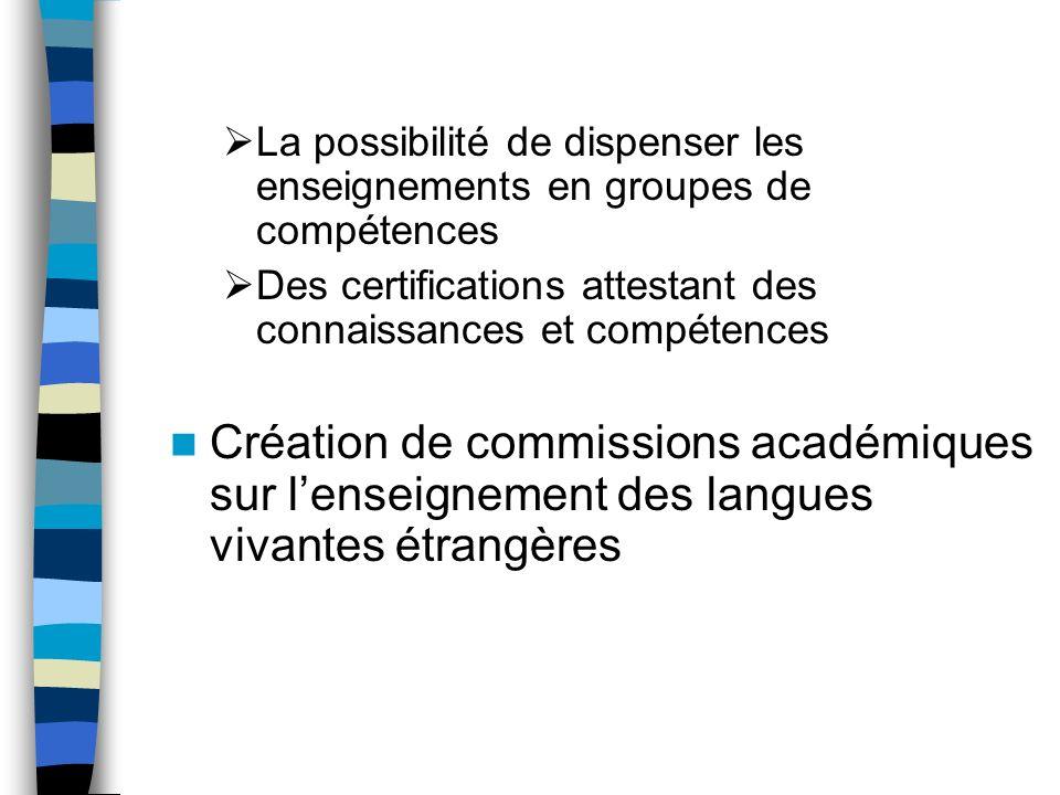 Des programmes de langues rénovés Cas du programme des langues vivantes du collège Un programme unique pour dix langues Un programme structuré à partir des niveaux du Cadre et de ses descripteurs Une continuité assurée avec le programme de lécole primaire