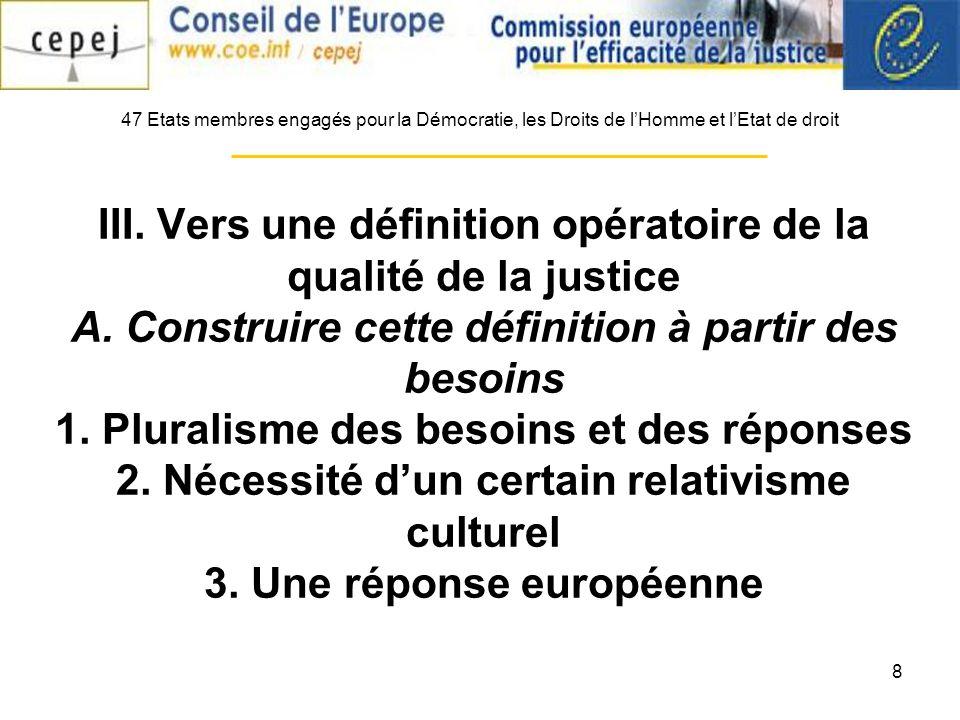 9 B.Une Checklist ouverte 1. Stratégie et politique 2.