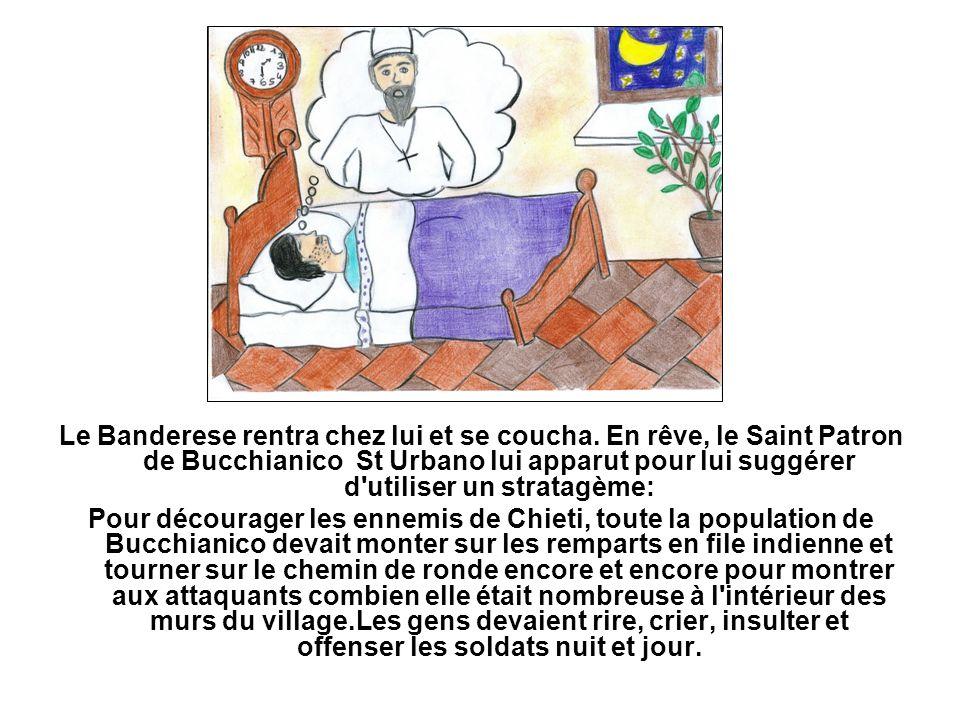 Le Banderese se leva le lendemain matin et se précipita chez le Sergentiere.