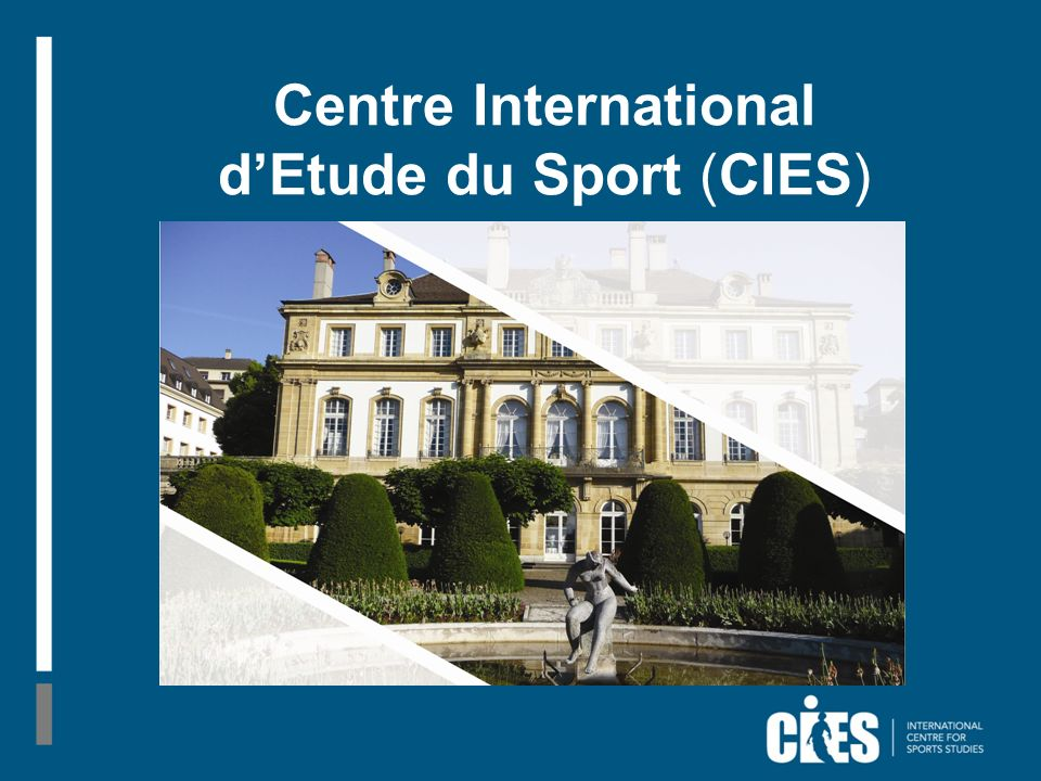 Centre International dEtude du Sport (CIES)