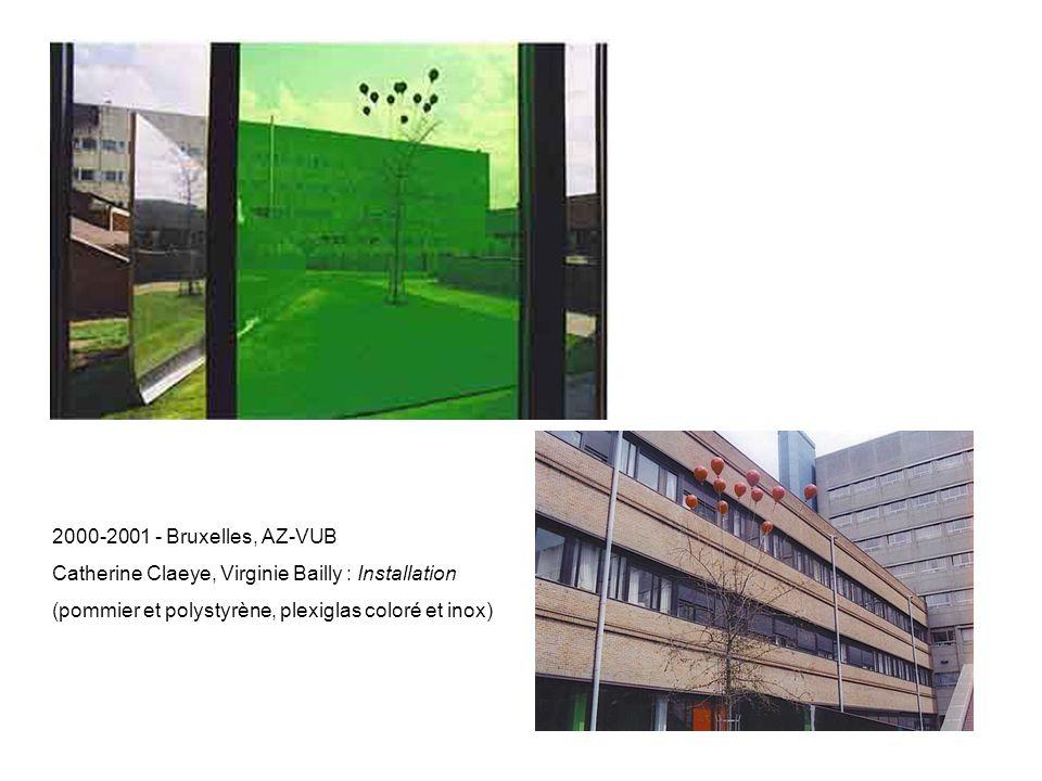 2000-2001 - Bruxelles, AZ-VUB Catherine Claeye, Virginie Bailly et les enfants (acrylique sur toile)
