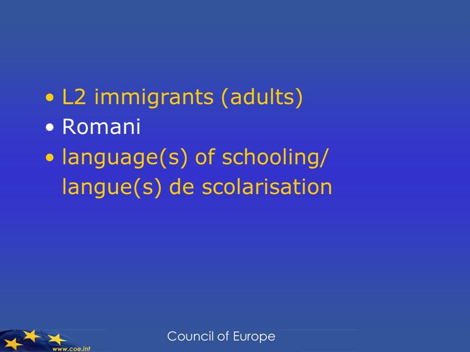 Linguistic Integration of Adult Immigrants Lintégration linguistique des immigrants adultes residence/séjour + naturalisation A1.1 – B1 (B2) test-compulsory/obligatoire.