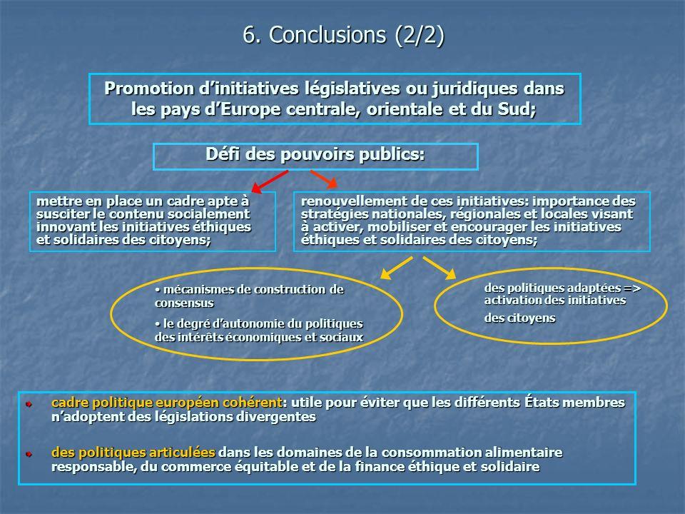 cadre politique européen cohérent: utile pour éviter que les différents États membres nadoptent des législations divergentes des politiques articulées
