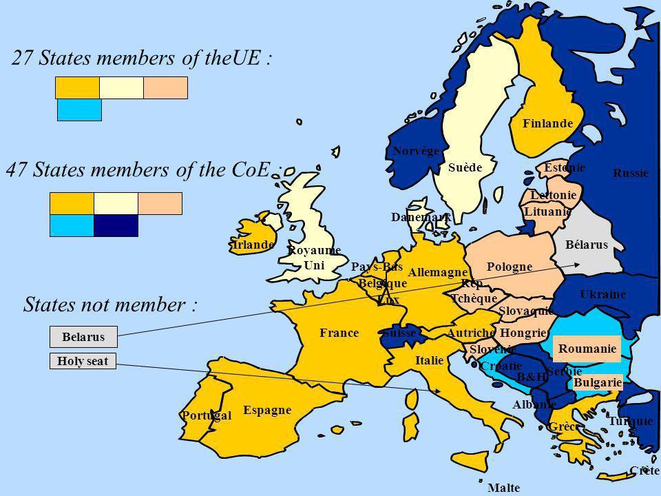 States not member : Holy seat Belarus