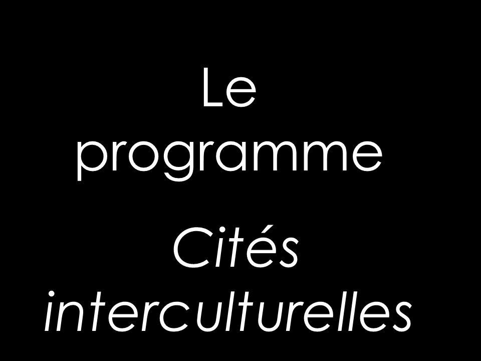 Le programme Cités interculturelles
