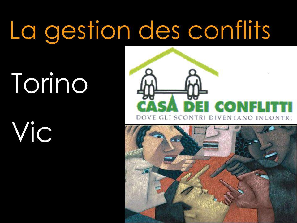 Torino Vic La gestion des conflits
