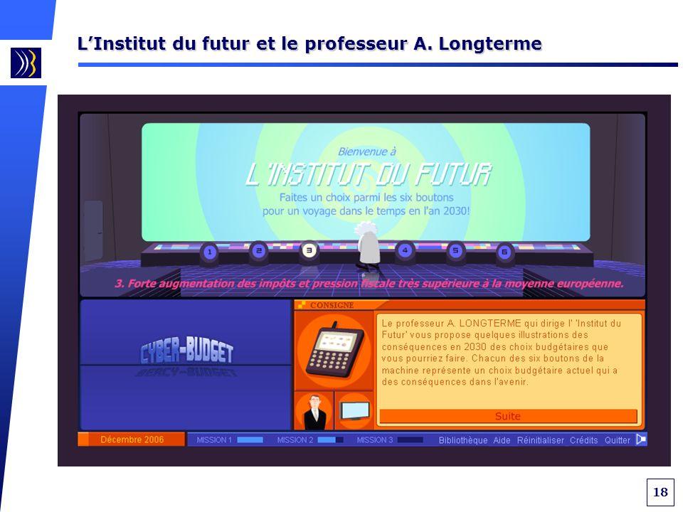 18 LInstitut du futur et le professeur A. Longterme