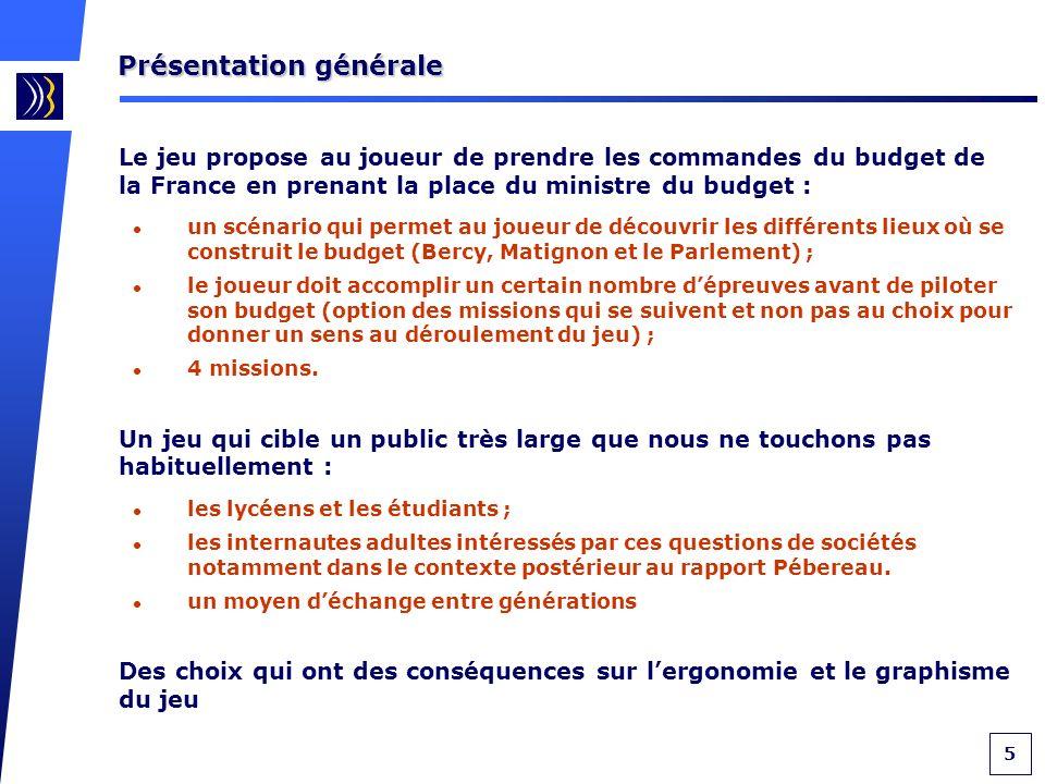 6 Le bureau du ministre du budget