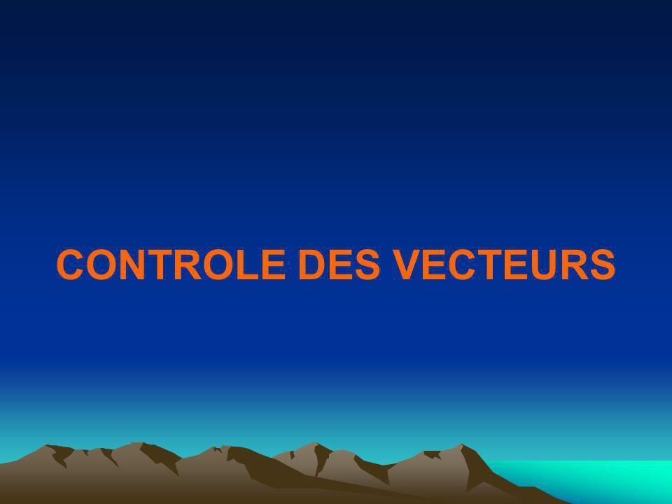 CONTROLE DES VECTEURS