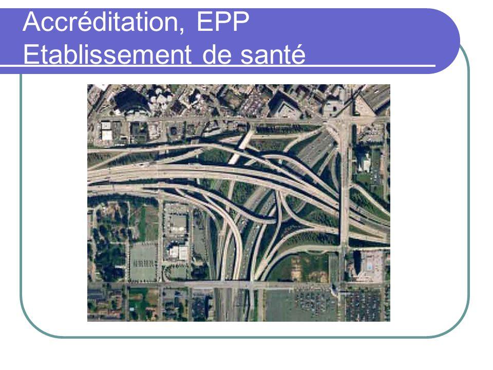 Accréditation, EPP Etablissement de santé