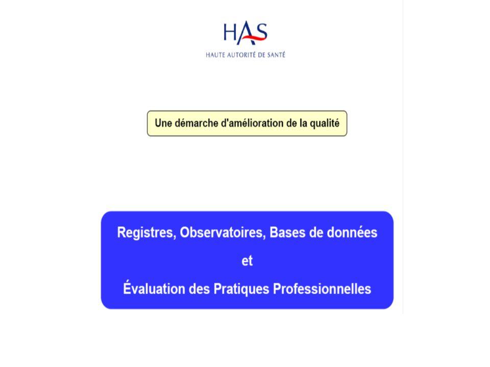 Envoi aux participants: – de lettres dinformation – de cas cliniques – des données issues du registre Possibilité de contacter les auteurs pour avis