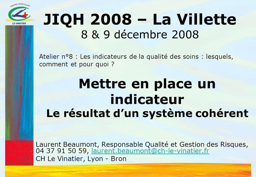 La gestion des risques au CHV Mise en place dune FEI en 2001 Mais politique de gestion des risques seulement en 2005 Un constat pour létablissement : le 1 er risque est la chute devant la violence