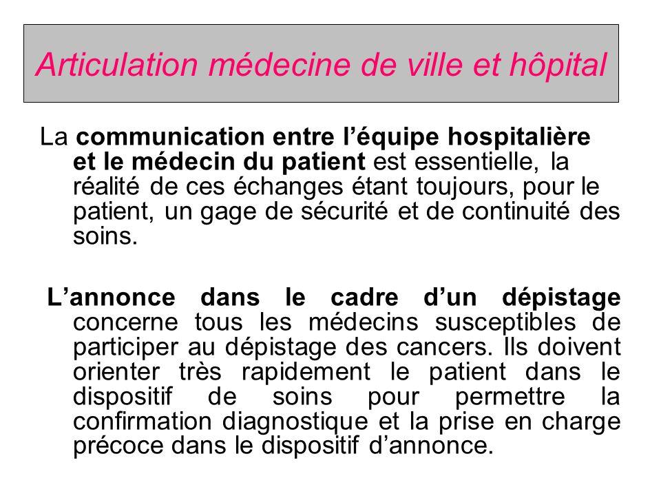 Bienfaits du dispositif dannonce Ce dispositif sappuie sur un travail de liaison et de coordination entre les professionnels concernés.