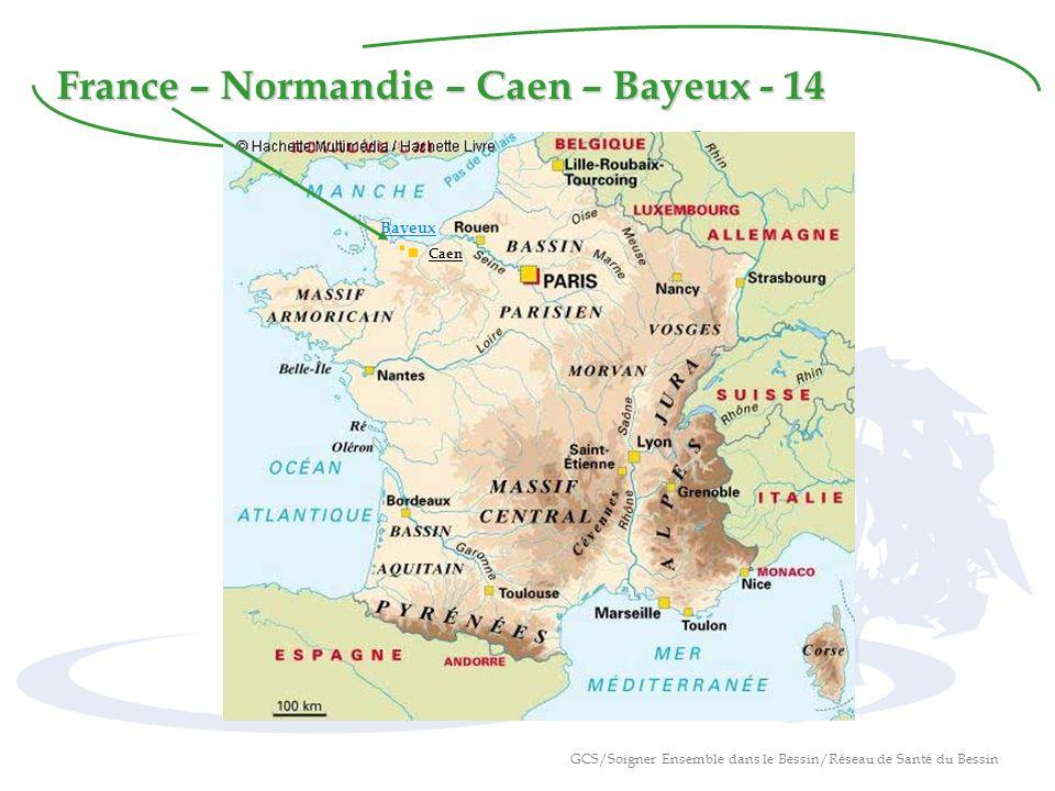 France – Normandie – Caen – Bayeux - 14 Caen Bayeux GCS/Soigner Ensemble dans le Bessin/Réseau de Santé du Bessin