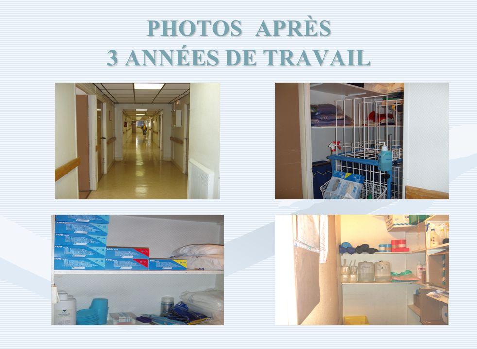 PHOTOS APRÈS 3 ANNÉES DE TRAVAIL