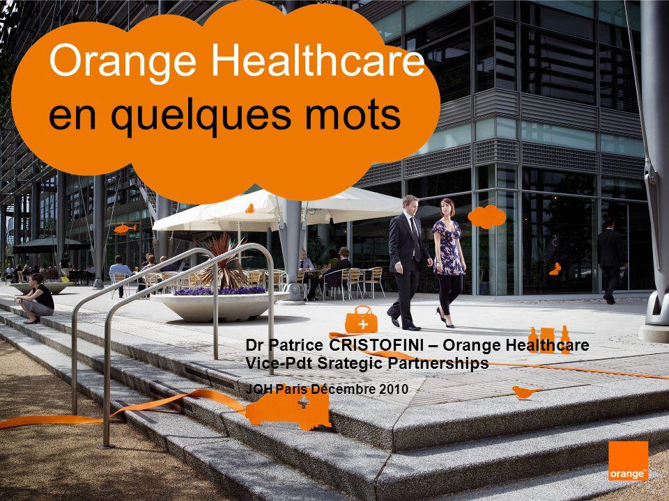 2 interne Groupe France Télécom Orange Healthcare en quelques mots sommaire partie 1le groupe Orange partie 2le secteur de la santé chez Orange partie 3le marché de la santé : contexte et enjeux partie 4Orange au service de la e-santé