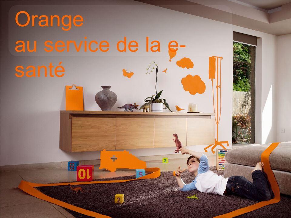17 interne Groupe France Télécom Orange Healthcare en quelques mots Orange au service de la e- santé