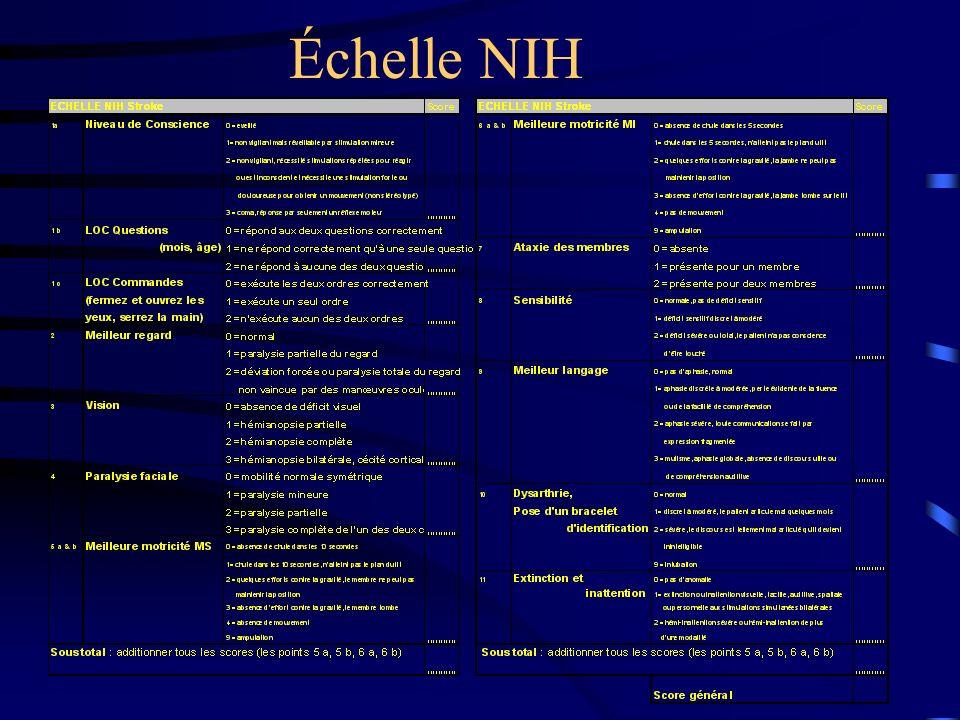 Échelle NIH