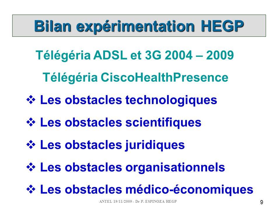 ANTEL 19/11/2009 - Dr P.