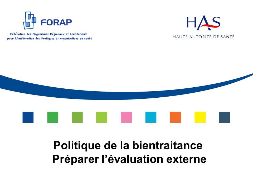 Plan Les étapes Les outils Vous souhaitez évaluer la politique de bientraitance dans votre établissement / au niveau dun pôle / dun secteur dactivité Quelle(s) méthode(s) .