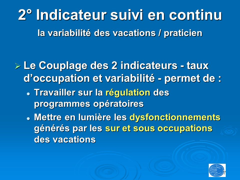 18 Introduction des indicateurs qualité Les signalements émis par les praticiens