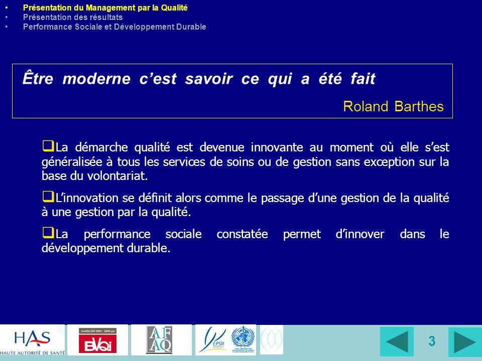 4 EPSM Lille-Metropole EPSM Lille-Metropole Presentation Quality Process at EPSM Lille-Metropolis The results