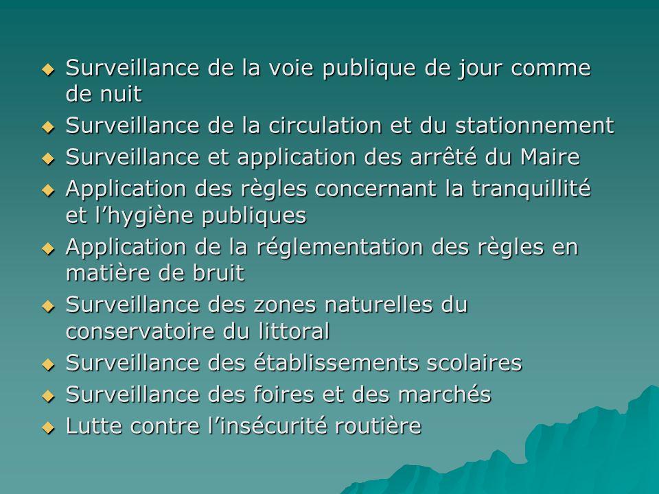 Surveillance de la voie publique de jour comme de nuit Surveillance de la voie publique de jour comme de nuit Surveillance de la circulation et du sta