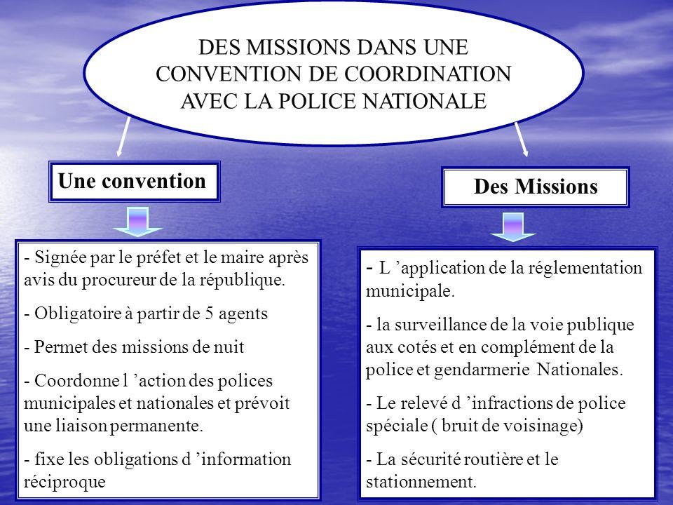 Comment travailler avec la police municipale?