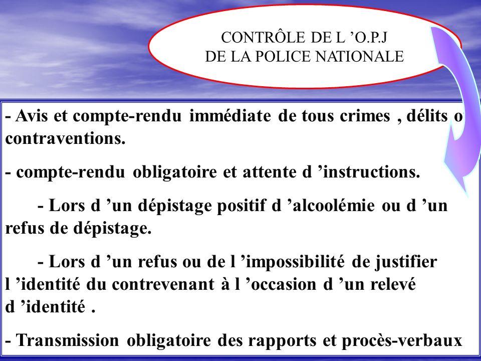 UN ROLE NOUVEAU POUR LE POLICIER MUNICIPALE - La possibilité de constater, en matière de circulation, par P.V les contraventions des 4 premières class