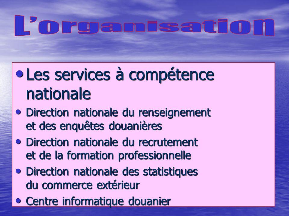 De nombreuses conventions douanières bilatérales De nombreuses conventions douanières bilatérales Un réseau de quinze attachés douaniers Un réseau de