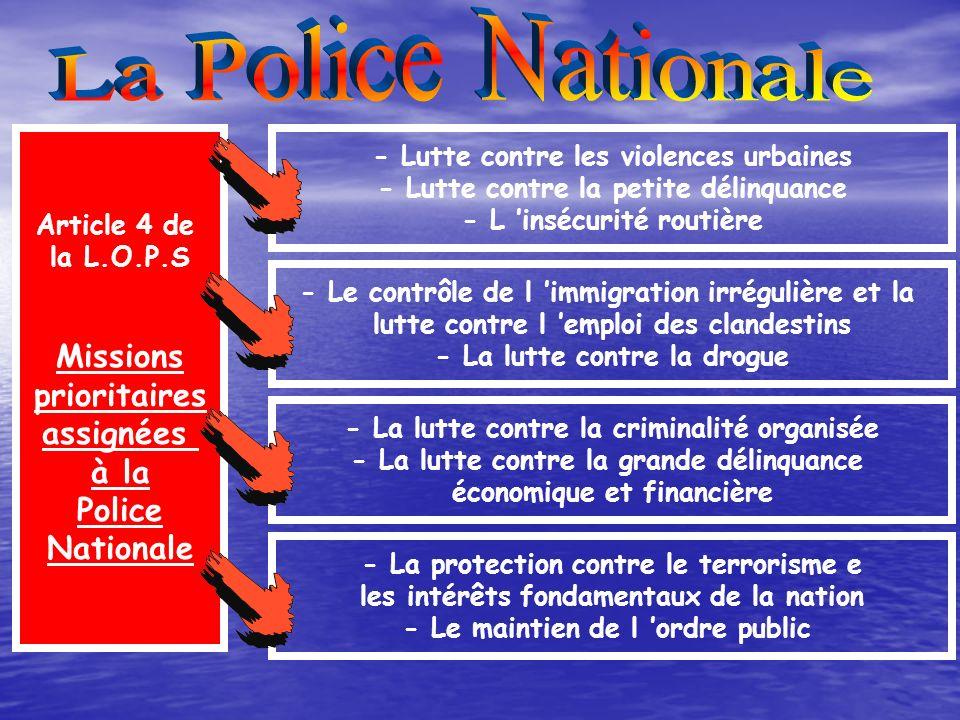 Extension à l ensemble du territoire d un police de proximité répondant aux attentes et aux besoins des personnes Le renforcement de la coopération en