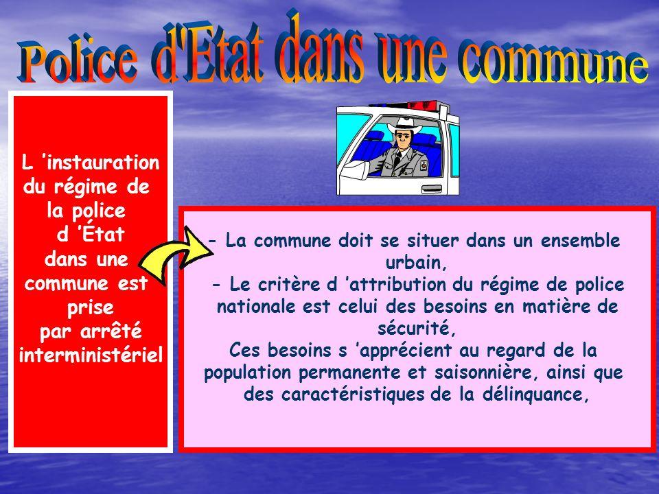 Article 6 de la L.O.P.S Le Préfet coordonne les forces de polices en matière de sécurité Le Préfet anime et coordonne la prévention de la délinquance