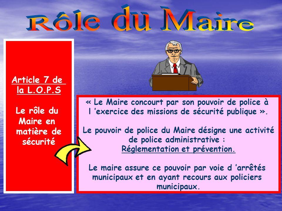 L instauration du régime de la police d État dans une commune est prise par arrêté interministériel - La commune doit se situer dans un ensemble urbai