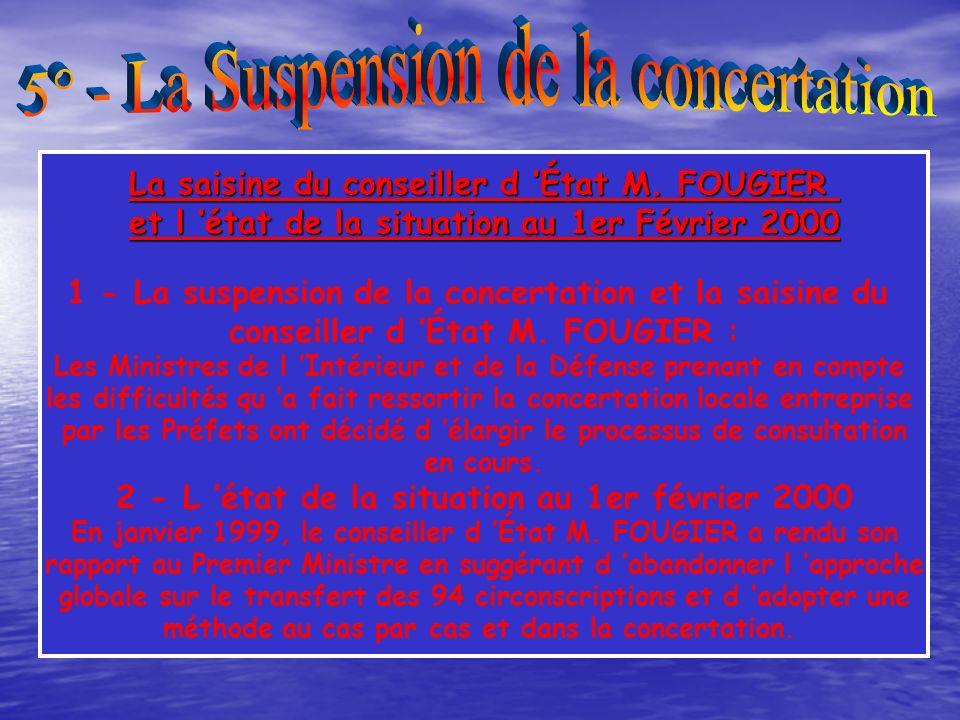 L argumentaire diffusé aux médias en septembre 1998 explique les raisons de la réorganisation : 1 - De la réorganisation, Une exigence républicaine :