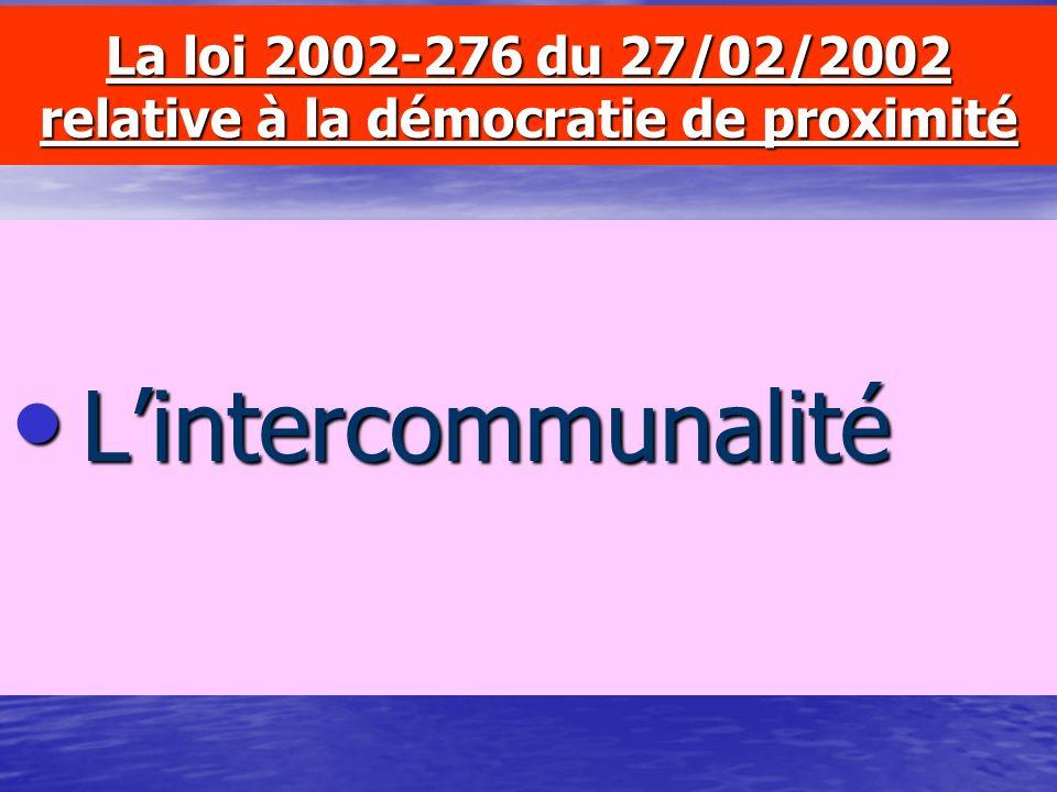 La loi 2001-1062 du 15/11/2001 sur la sécurité quotidienne –Les nouvelles compétences issues du Code de la Route –Les nouvelles compétences en matière