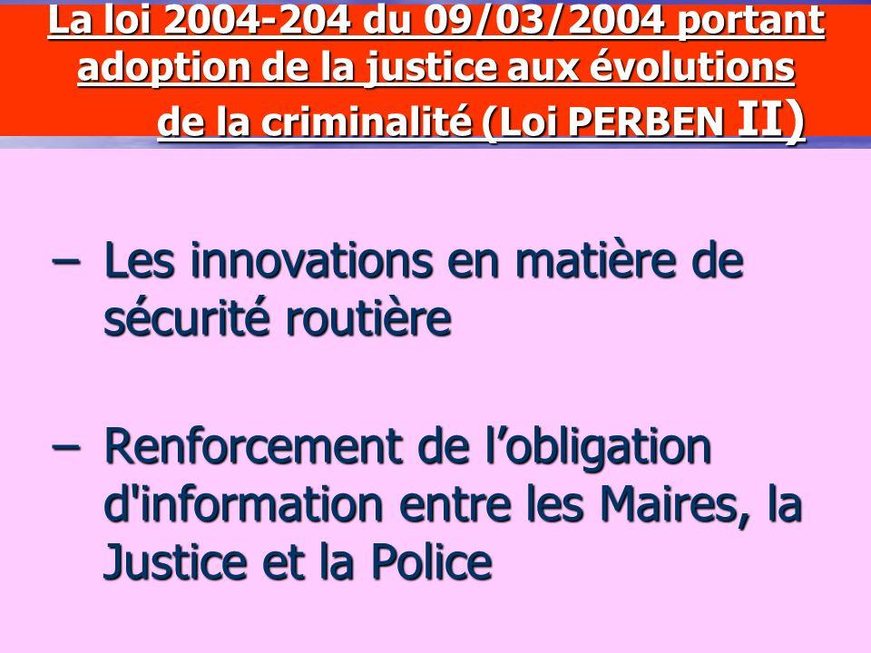 La loi 2003-239 du 18/03/2003 relative à la sécurité intérieure Les nouvelles compétences concernant les halls dimmeubles –Les moyens daction –Le carn