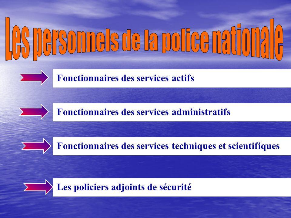 La responsabilité de l organisation et de la gestion des moyens humains, administratifs et budgétaires de la police nationale est ainsi de plus en plu