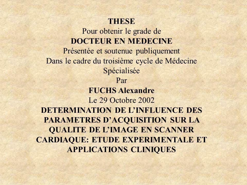 THESE Pour obtenir le grade de DOCTEUR EN MEDECINE Présentée et soutenue publiquement Dans le cadre du troisième cycle de Médecine Spécialisée Par FUC