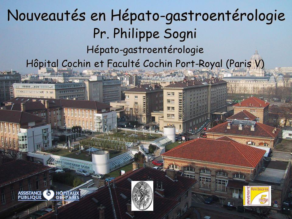 Sogni1 Nouveautés en Hépato-gastroentérologie Pr.
