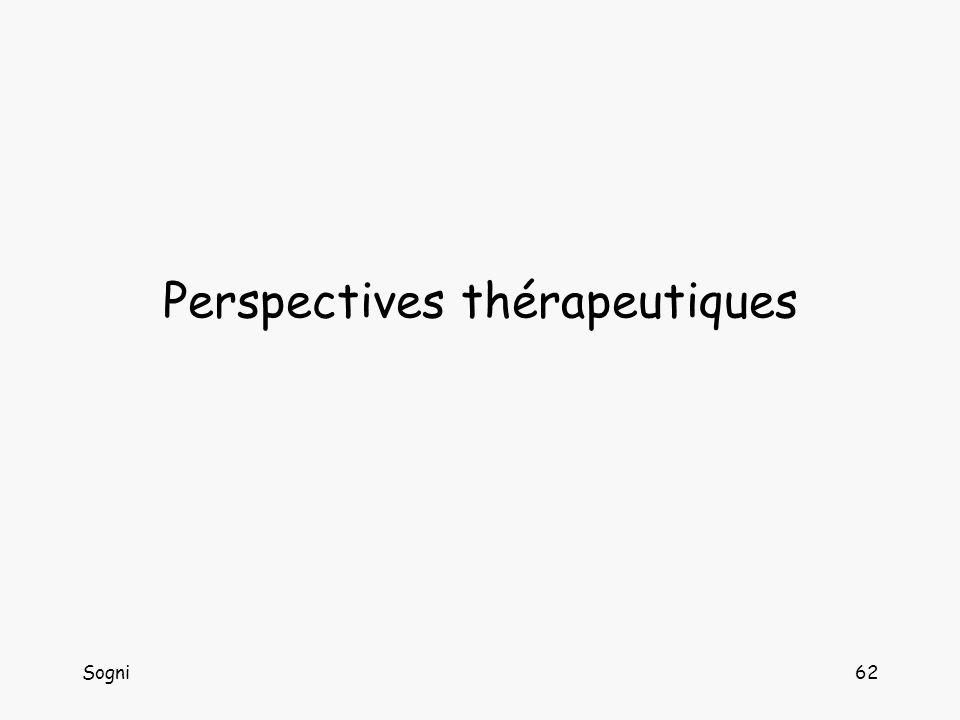Sogni62 Perspectives thérapeutiques