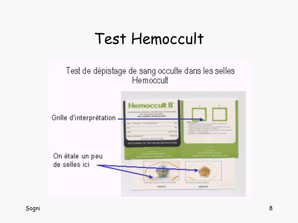Sogni8 Test Hemoccult