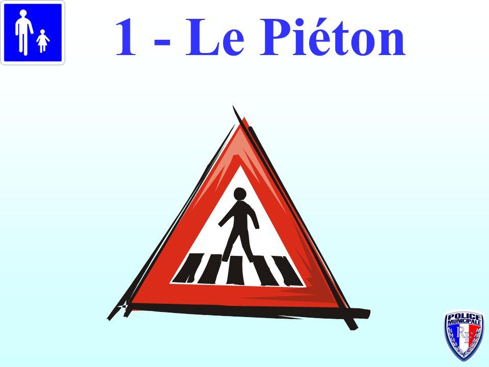 1 - Le Piéton