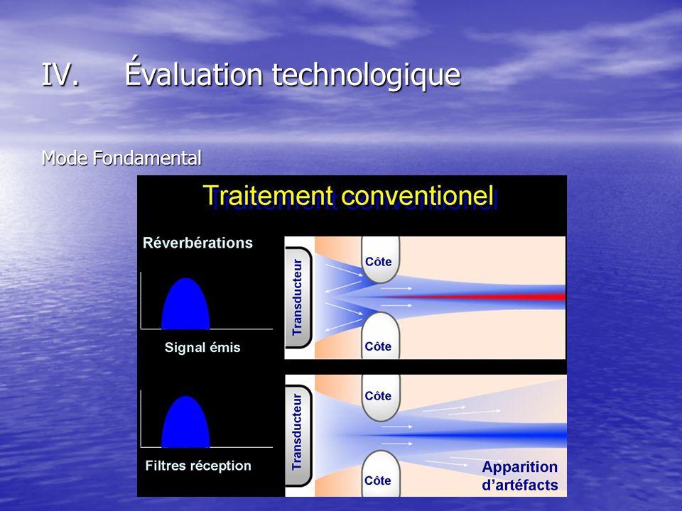 Mode Fondamental IV.Évaluation technologique