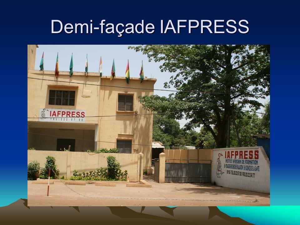Demi-façade IAFPRESS