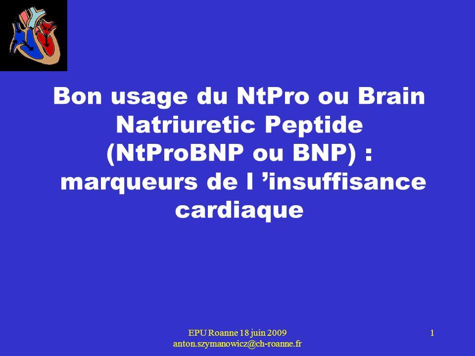 EPU Roanne 18 juin 2009 anton.szymanowicz@ch-roanne.fr 2 8 L INSUFFISANCE CARDIAQUE C est une incapacité mécanique progressive du muscle cardiaque à assurer un débit sanguin suffisant pour les besoins de l organisme.