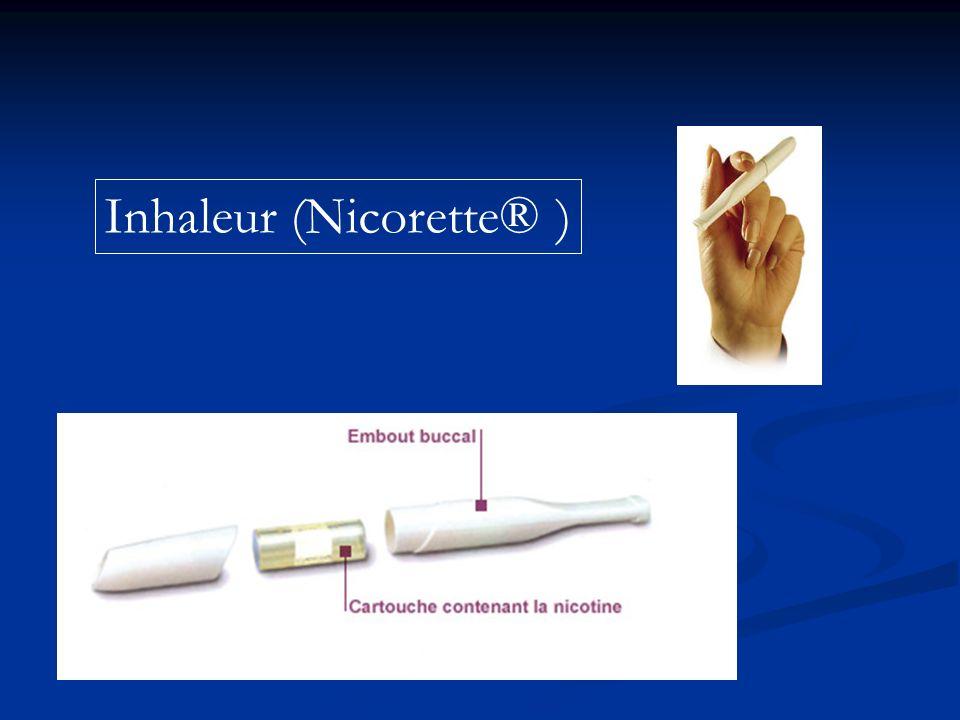 Inhaleur (Nicorette® )