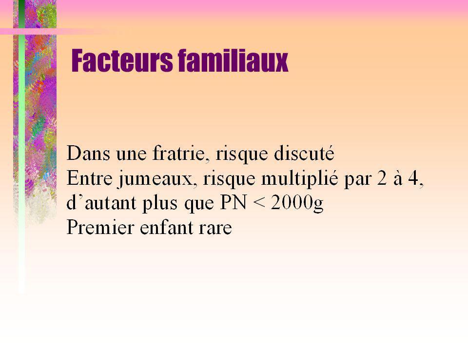 Facteurs familiaux