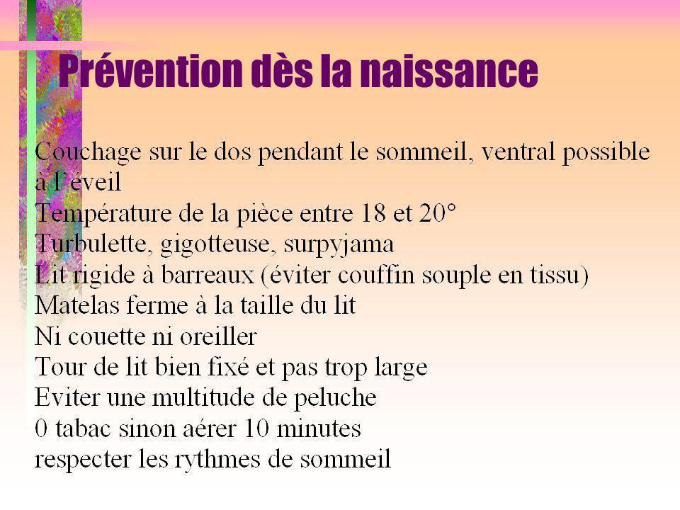 Prévention dès la naissance