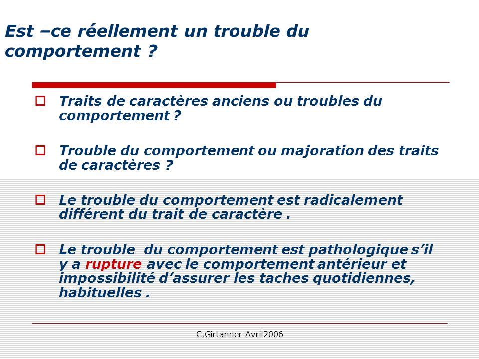 C.Girtanner Avril2006 Le Bon Sens...
