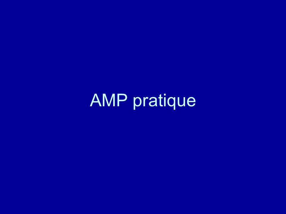 AMP pratique